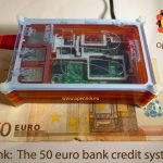 How much digital bank can we fit in a 50 euro bill?